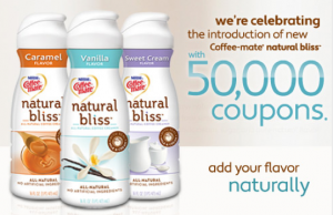 1 1 coffeemate natural bliss coupon available the savvy for Gardening naturally coupon
