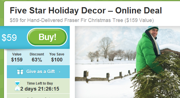 frasier fir home delivery for christmas