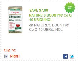 Nature S Bounty Ubiquinol Coupon
