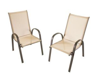 Homedepot Com Patio Sling Chair 4 Pack Just 55 Shipped