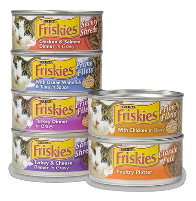 Friskies Wet Cat Food Coupons